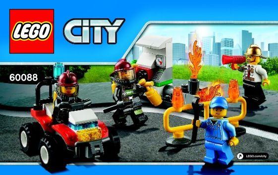 City Fire Starter Set Lego 60088 Lego Pinterest Legos