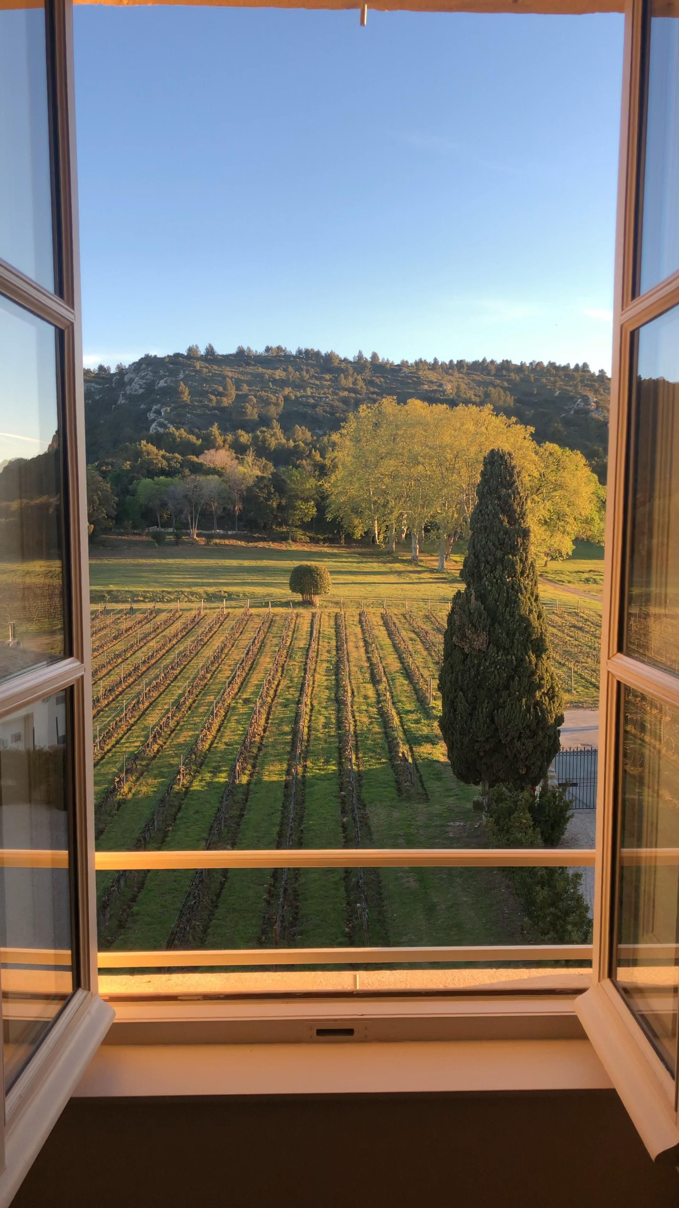 Photo of Good morning from beautiful Chateau d'Estoublon
