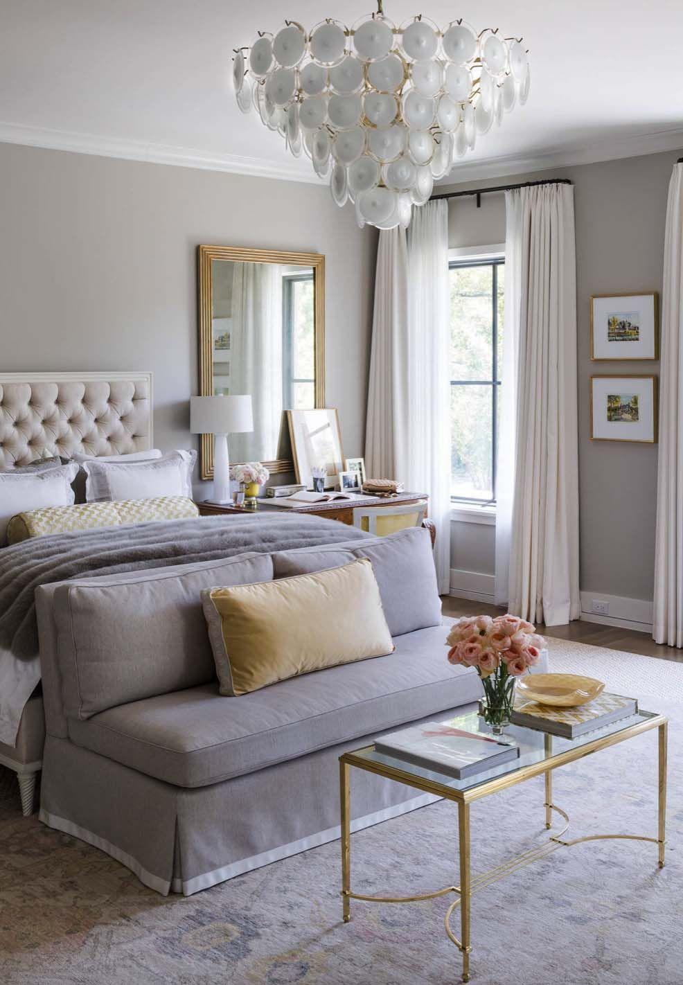 20 Serene And Elegant Master Bedroom Decorating Ideas Elegant Master Bedroom Yellow Bedroom Decor Transitional Bedroom Design