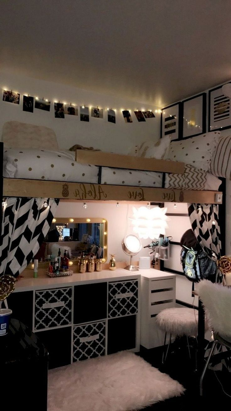 46 Sweety Dorm Room Dekorationsideen mit kleinem Budget #decoration #decoratingideas ...