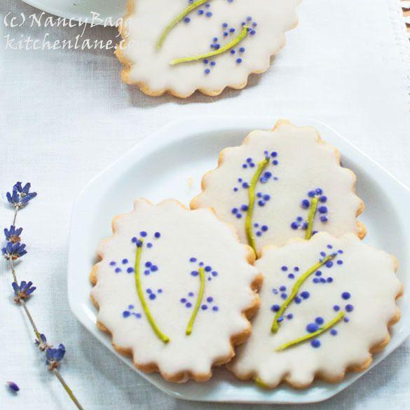 Lavender Sugar Cookies - fancy-edibles.com