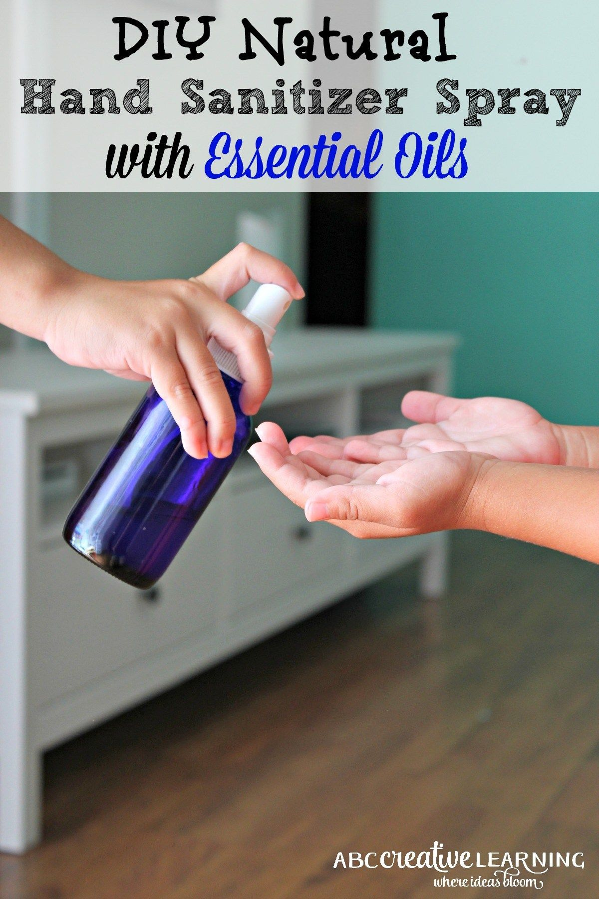 Diy Natural Hand Sanitizer Spray Natural Hand Sanitizer