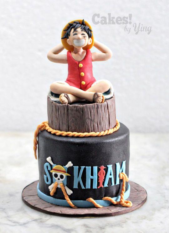 One Piece Monkey D Luffy Idees Cake Design Pinterest Anime