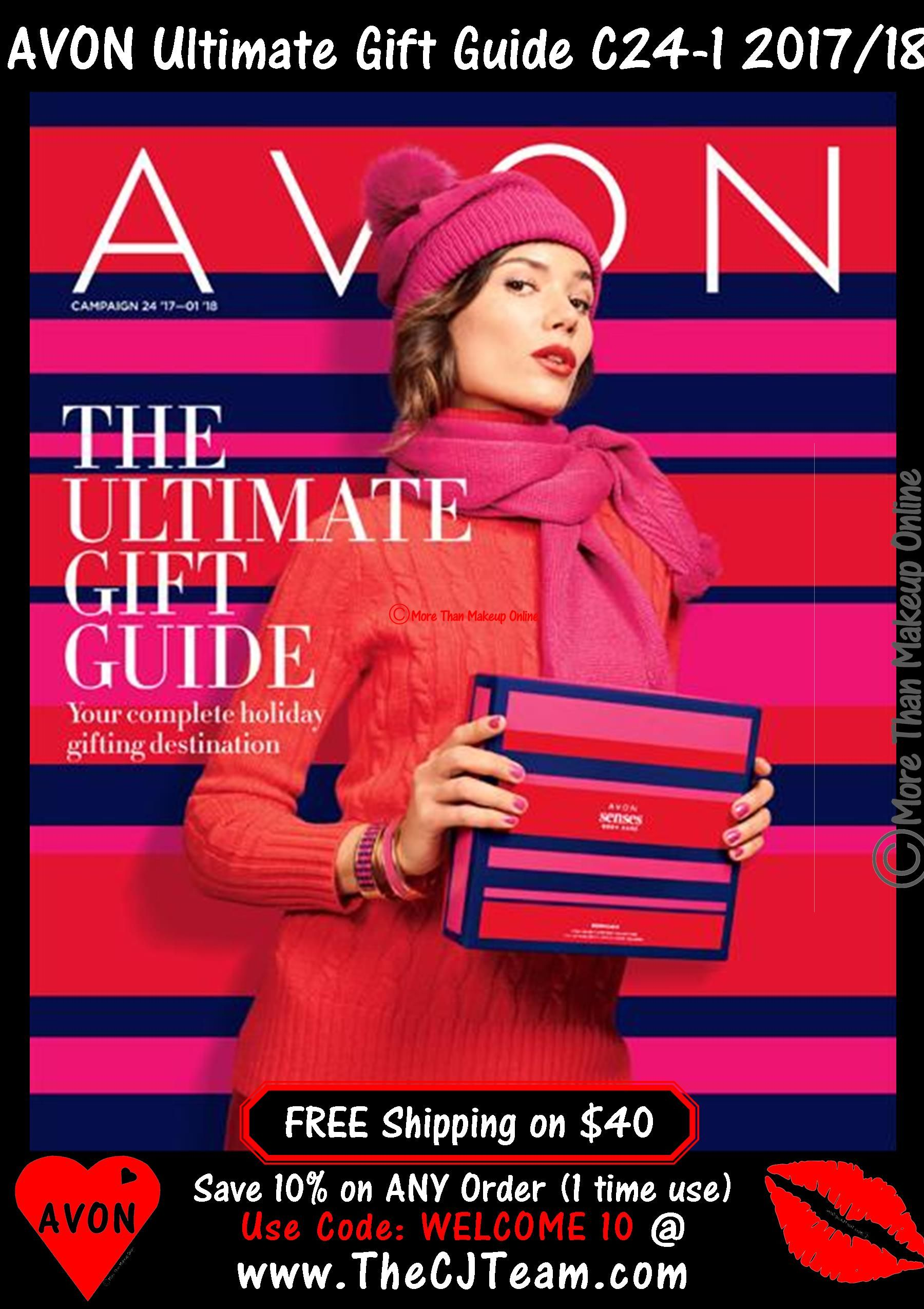 Avon Ultimate Gift Guide has you covered for everyone on your ...