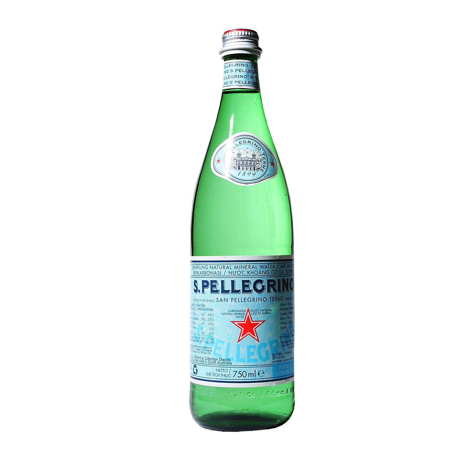 San Pellegrino Sparkling Natural Mineral Water Mineral
