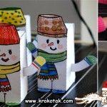 Winter - Snowman  Inverno - boneco de neve