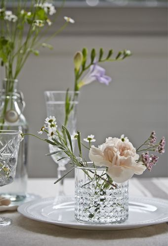 Decorate your table with fresh flowers - and dont worry ...