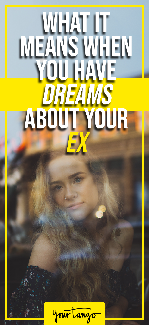 When u dream about your ex boyfriend