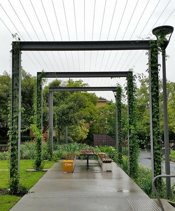 Foley Rest Park, Cable Trellis
