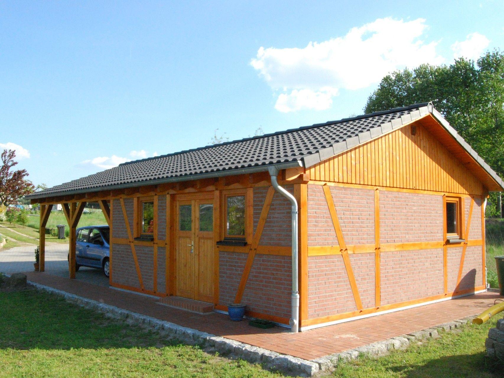 42 Spitzdach Carport Galerie Carport Mit Schuppen Dach