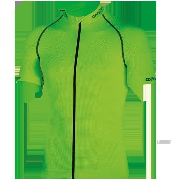 ciclismo MAGLIA BIKE X-TRACK 6018 OXYBURN 3 tasche