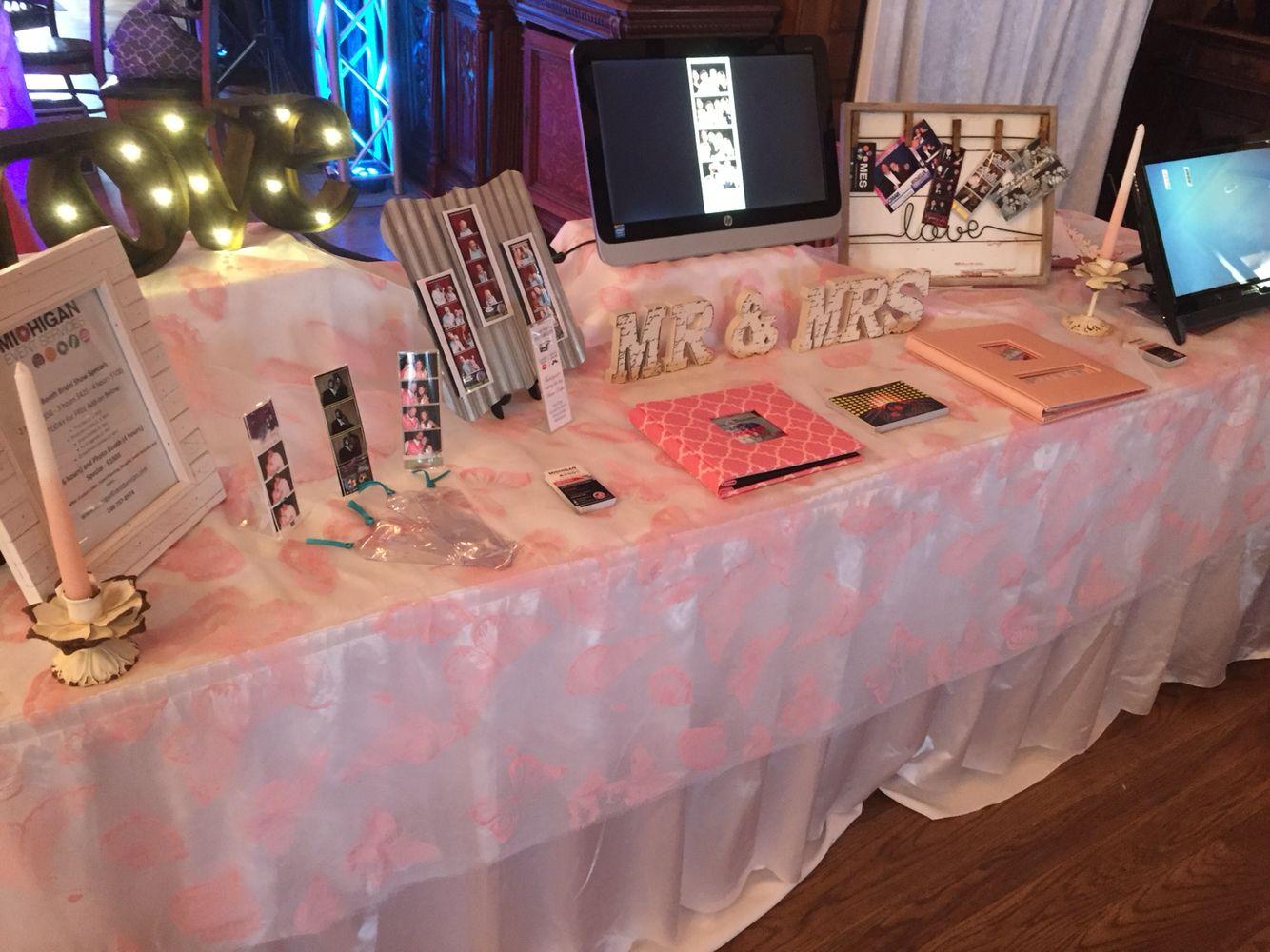 Michigan Bridal Show - Michigan Wedding - Michigan Event Services - Michigan Photo booth - DJ - Custom Cakes - Karaoke - Event Planning - Event Security - www.MichiganEventServices.com