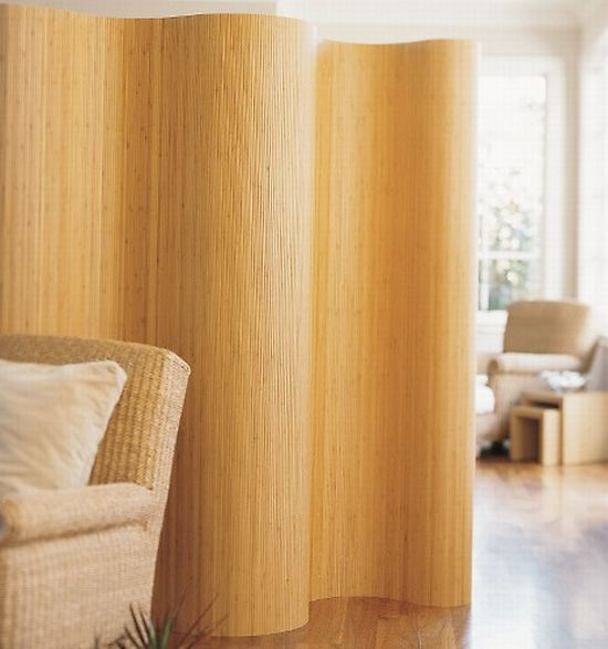 I Have Always Liked This Roll Up Bamboo Room Divider Comes In