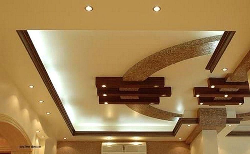 model baru plafon ruang tamu sederhana mungil kecil