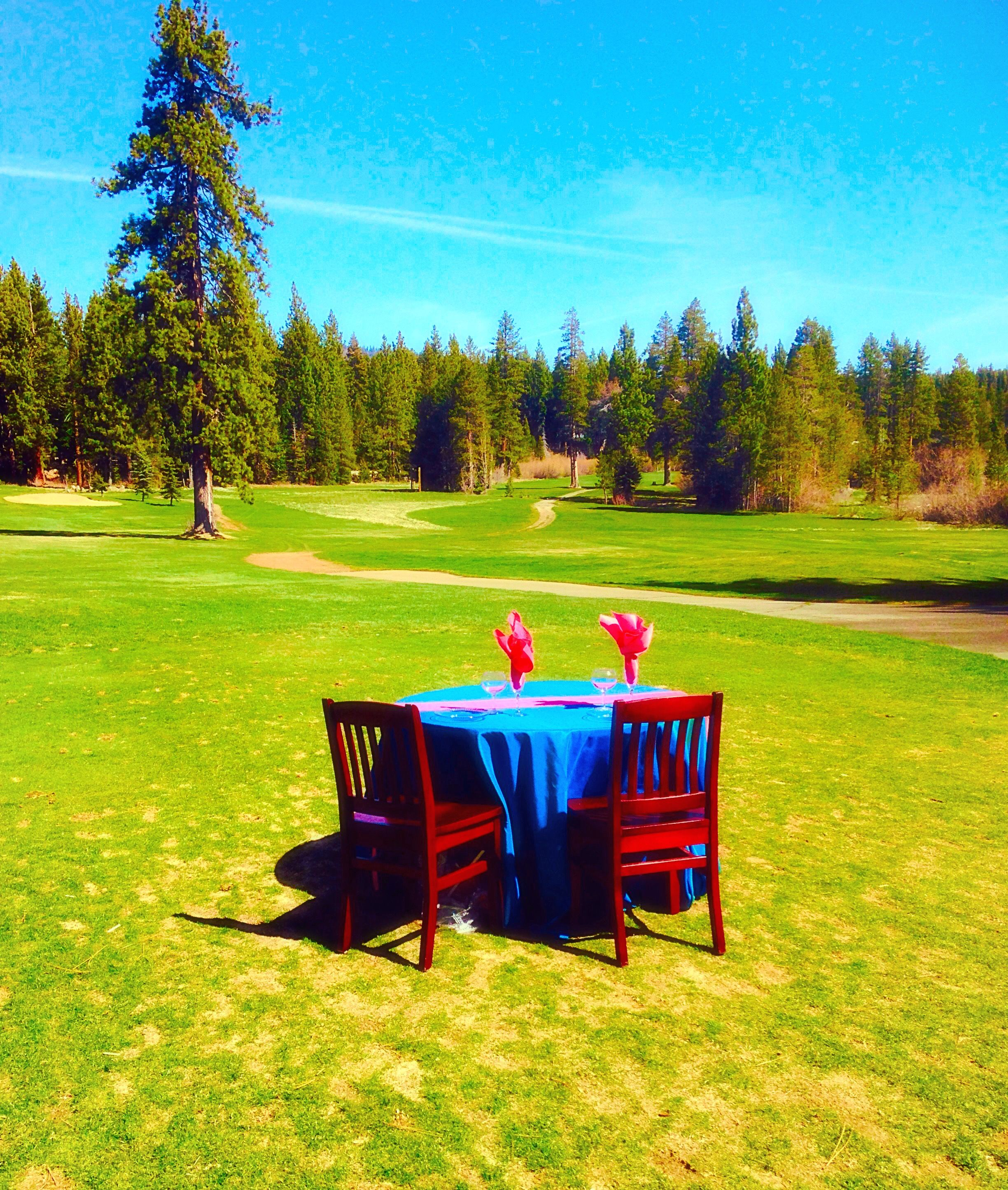 Tahoe city golf course weddings beautiful sweetheart