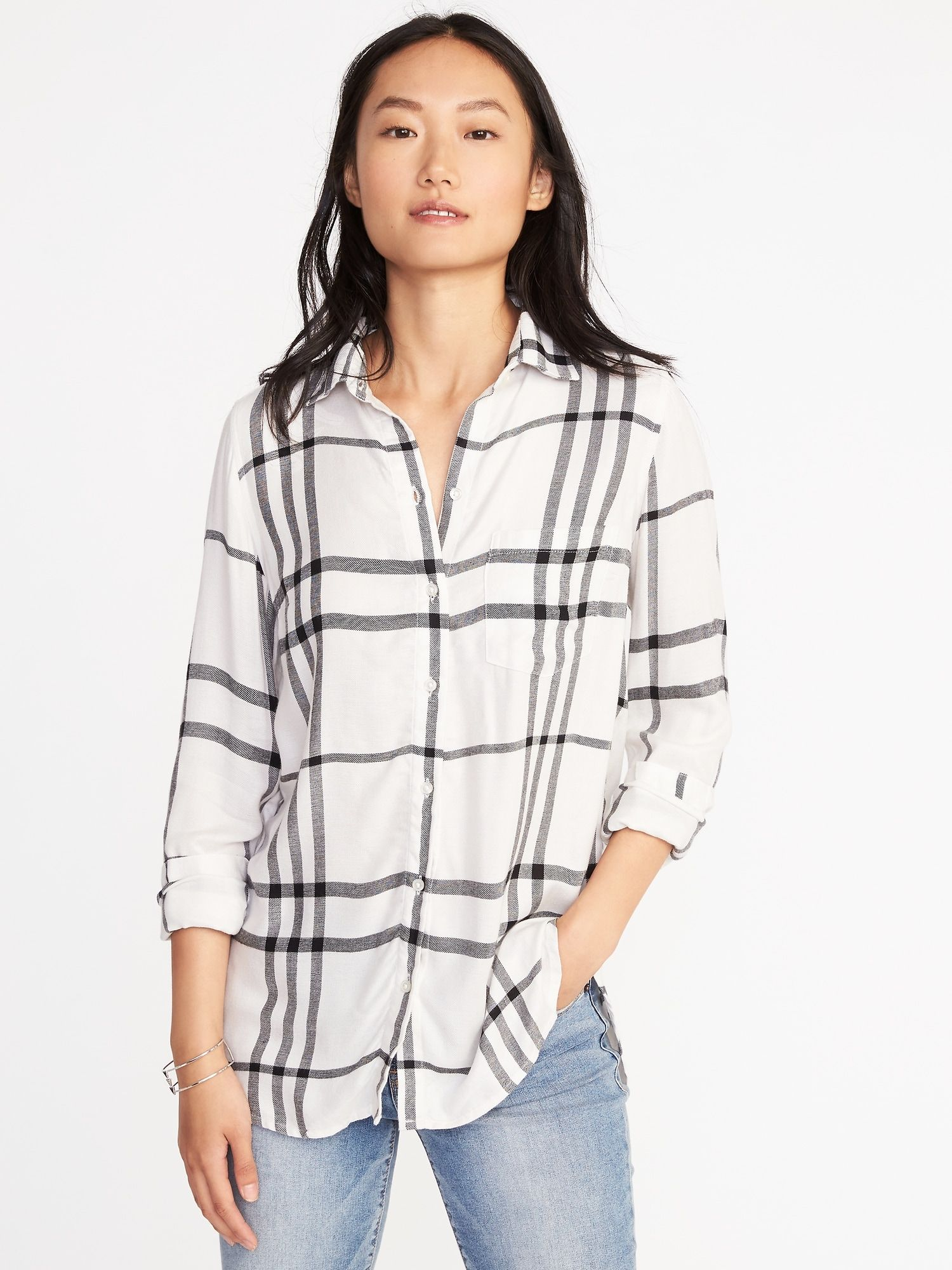 b92195cd4a575 Relaxed Soft-Washed Classic Shirt for Women | Old Navy | work stuff ...