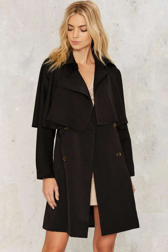 Jovonna London Cape It Together Trench Coat | Shop Clothes at Nasty Gal!