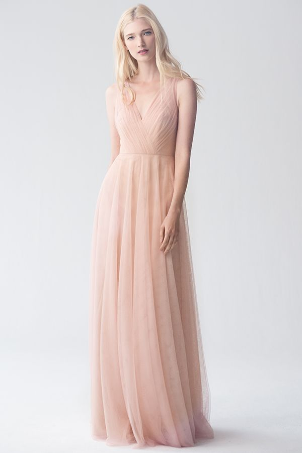 Emelie Dress Shown In Cameo Pink Available Sweet Pea Wedding Bridesmaid