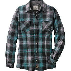 Ladies Cottage Escape Plaid Flannel Shirt | Legendary Whitetails
