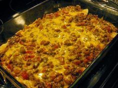 the best recipes of all time: Easy Mexican Casserole