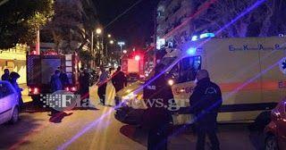 Τρεις τραυματίες σε πτώση ασανσέρ στα Χανιά... [photos]