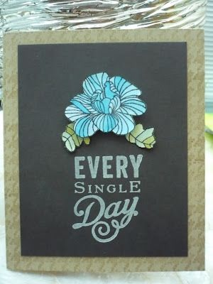 cards by cara: Papertrey's Make it Monday #77 - Watercolouring with ink pads