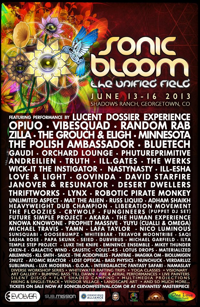 WOOGIE WEEKEND MUSIC FESTIVAL 2016 Poster Concert Lineup Multiple Sizes