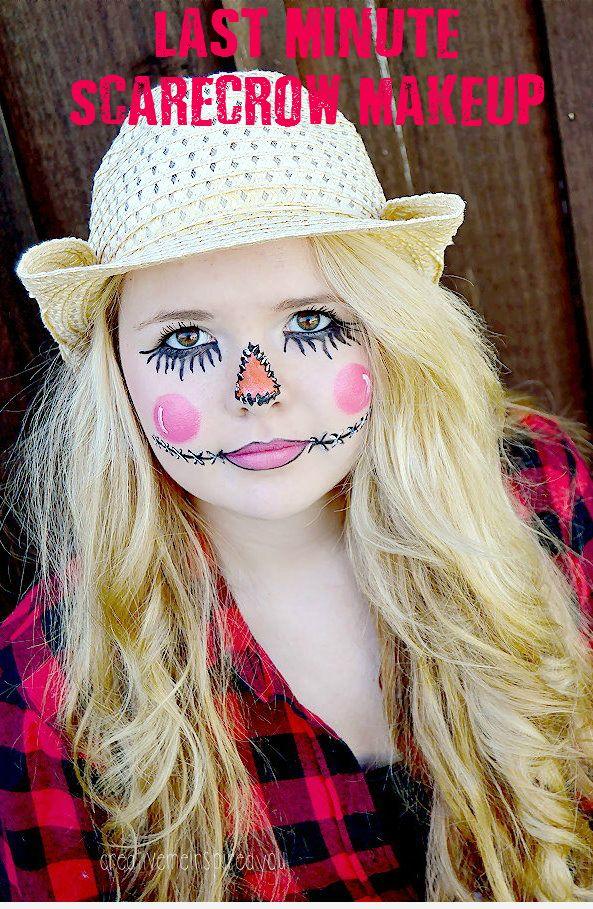 how to make a girl scarecrow