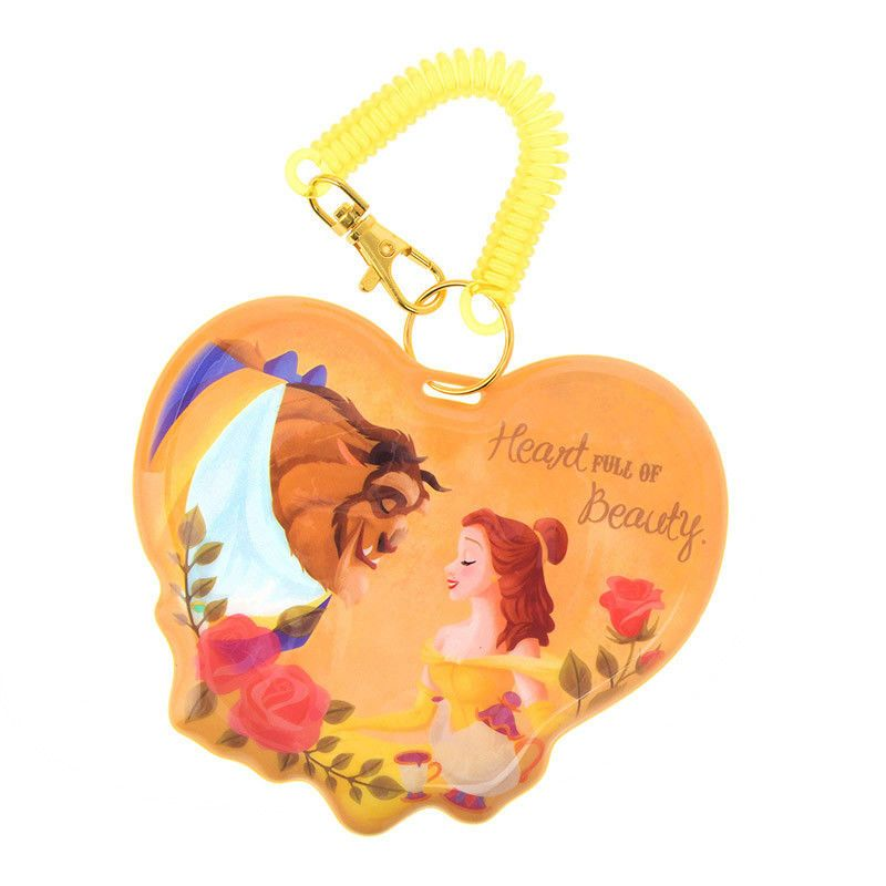 Disney japan beauty and the beast belle keychain lanyard