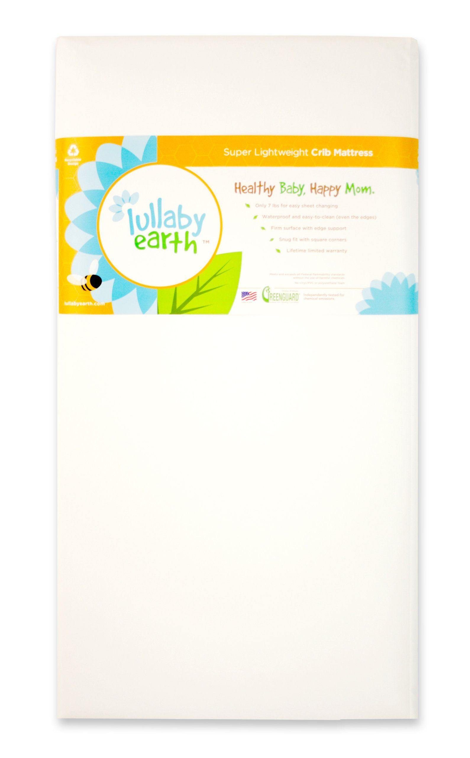 Baby crib mattress amazon - Amazon Com Lullaby Earth Super Lightweight Crib Mattress Lullabye Earth Crib Mattress