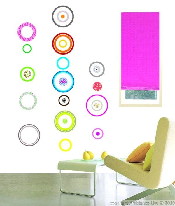 Ambiance Wall Stickers colorful bubbles murals & wall stickers | ambiance-sticker