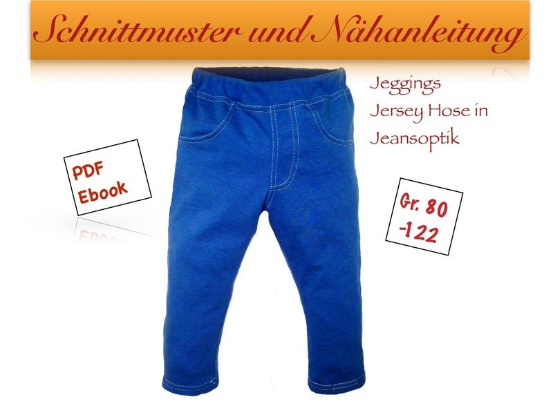 Schnittmuster hose baby 80
