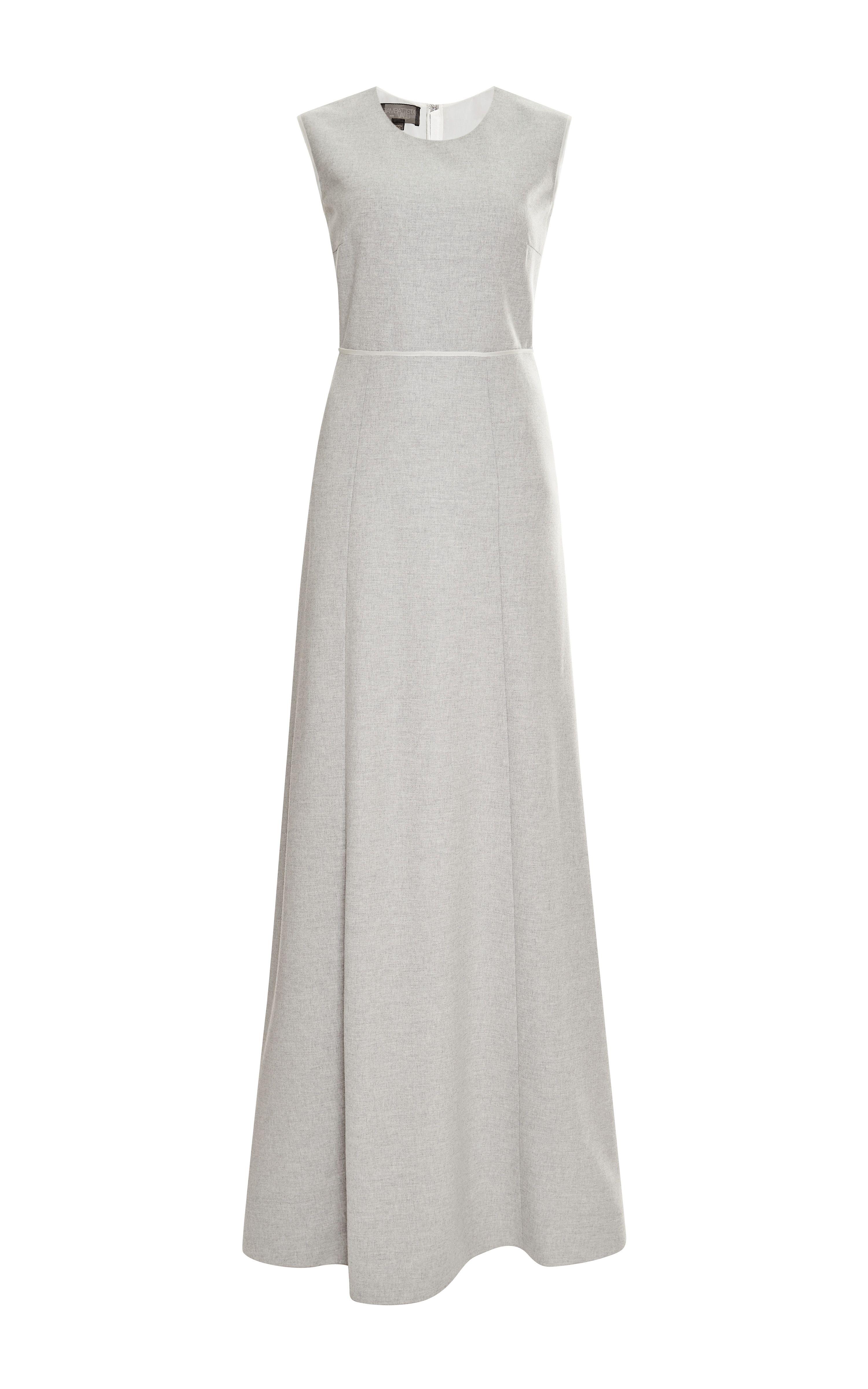 Flannel formal dress  Flannel Mélange Gown by Giambattista Valli  Moda Operandi  fashion