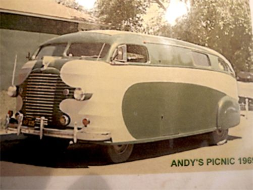 1937 Chris Craft motorhome [source]