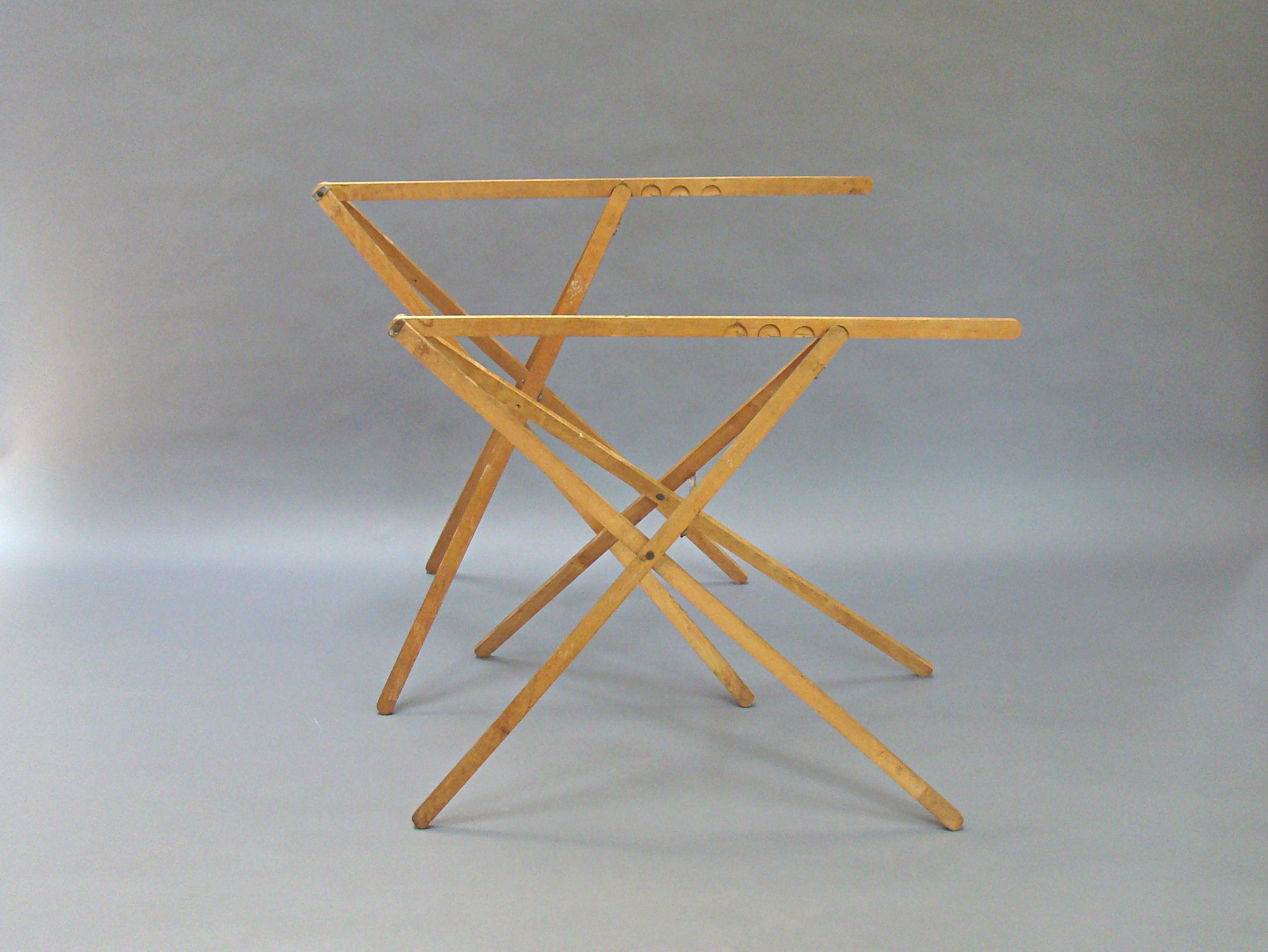 Pair Of Wallpaper Table Legs Trestle Legs Folding Table Etsy In 2020 Folding Table Legs Table Legs Portable Table