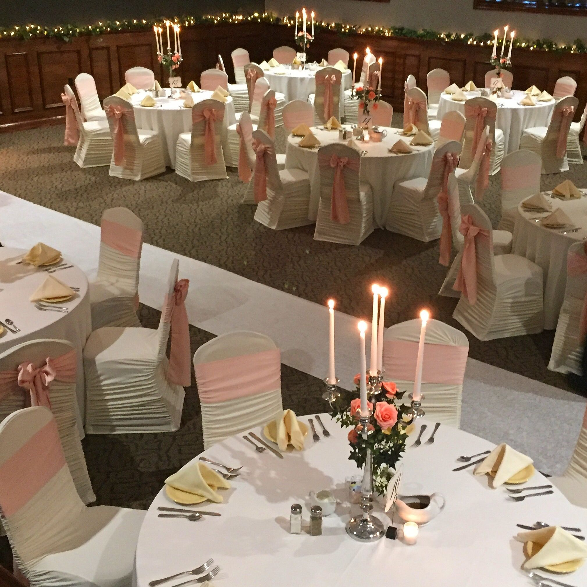 Weir Massie Ceremony & Reception Setup In The Beautiful