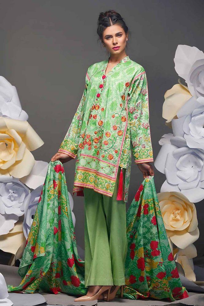 078eb82208 beautiful pakistani dresses Warda Lawn Latest Of Ladies Dresses 2017 ...