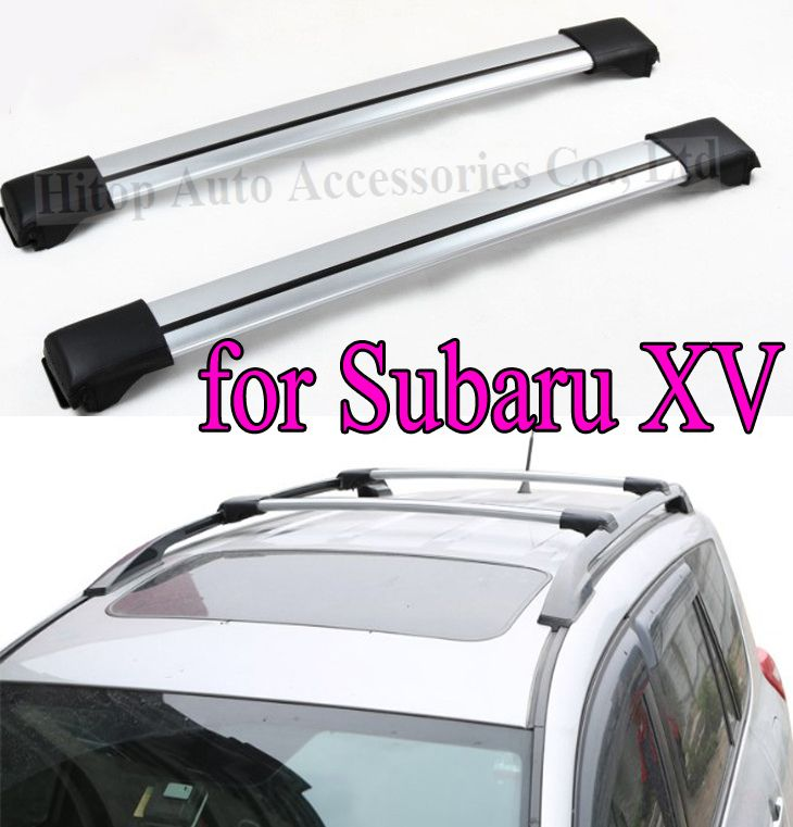 Roof Rack Roof Rail Roof Bar Crossbeam For Subaru Xv Slap Up Aluminum Alloy Universally Used For 2012 2016 Free Shipping Asia