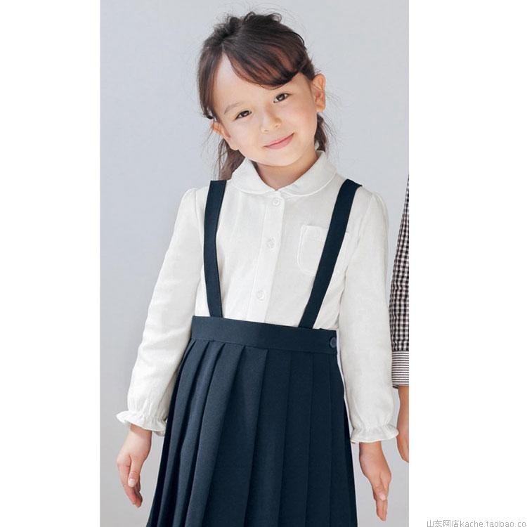 235ac026b Junior girls' navy pleated school uniform skirt with straps | school ...