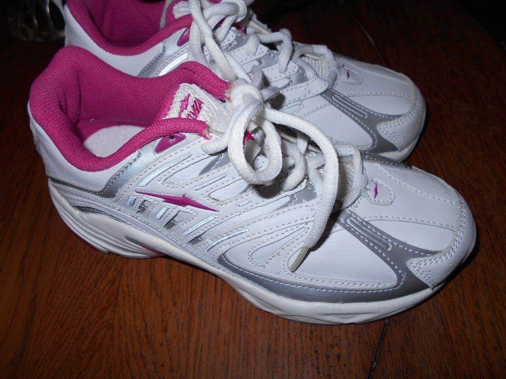 Girls Avia Tennis Shoes! Size 2! New