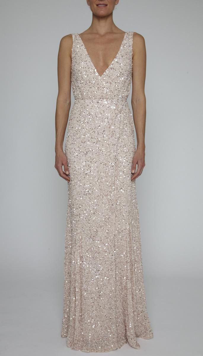 POWDER 13RG6715 | PIA GOWN | | Clothing | Rachel Gilbert | sparkly ...