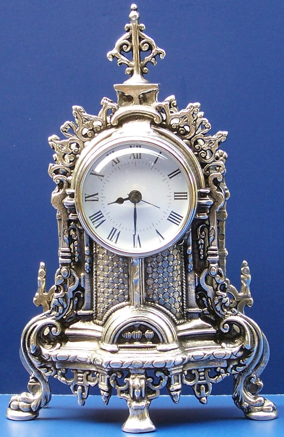 e36187903c4 Antique silver clock