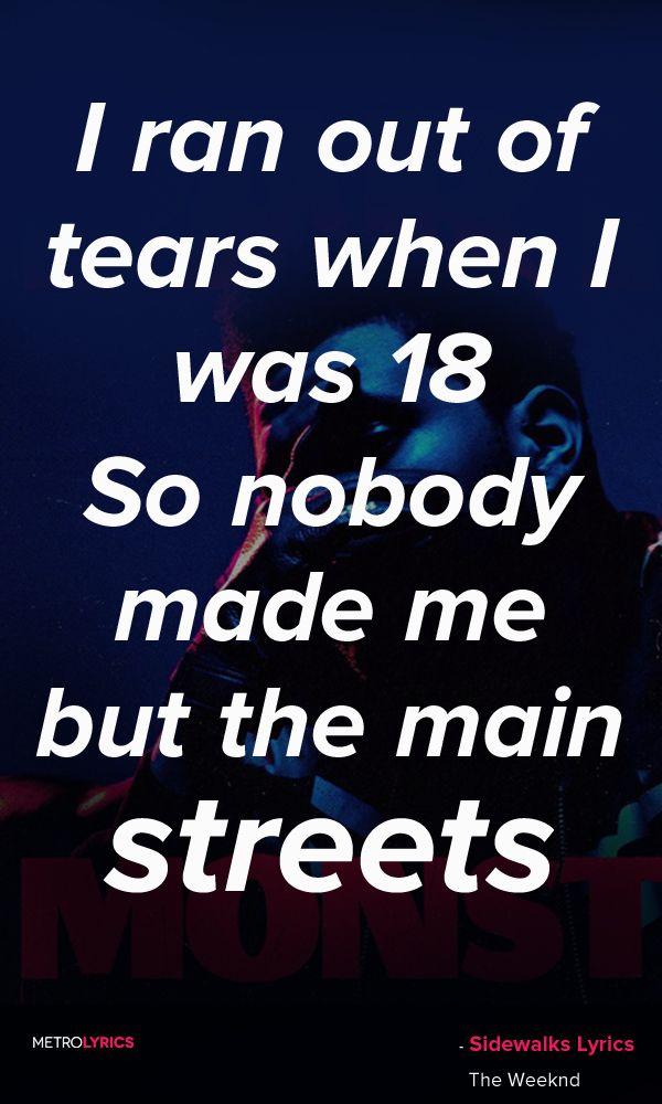 Lyric much more lyrics : The Weeknd Sidewalks (Kendrick Lamar) | Lyrics/Album Covers ...