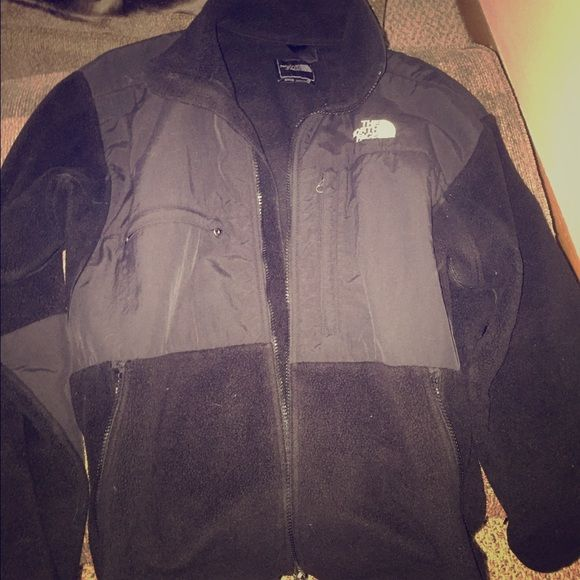 Mens size medium North Face black fleece jacket Gently used North Face Jackets & Coats Utility Jackets