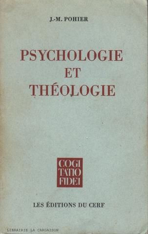 Pohier J M Psychologie Et Theologie Social Security Card Books Book Cover