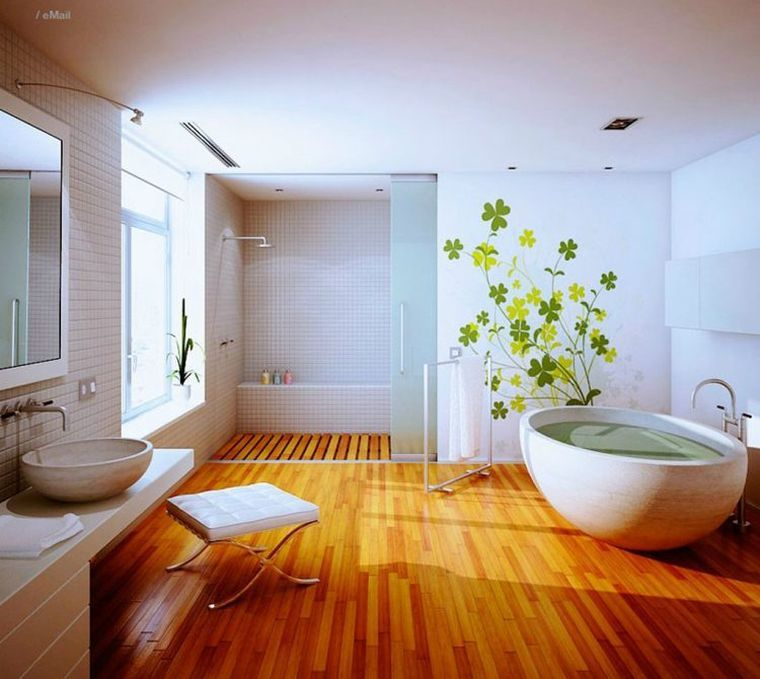 Das Badezimmer deco Zen inspiriert japanisch | Bad | Pinterest ...