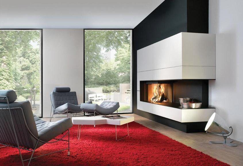 Kal-fire Heat Pure 65 hoek in showroom - Uwkachel