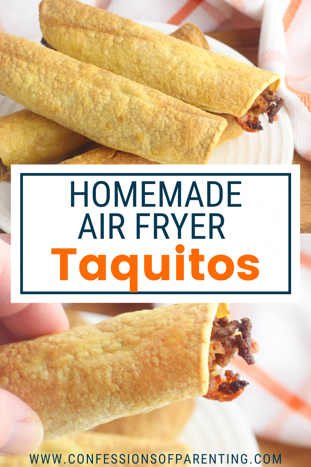 Homemade Air Fryer Taquitos in 2020 Air fryer dinner