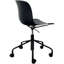 Photo of Magis Troy office chair without armrests chromed coral MagisMagis