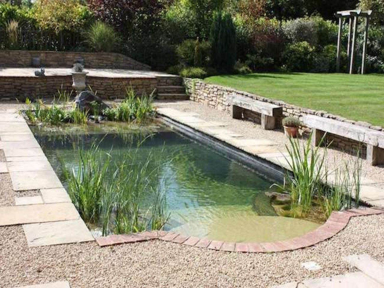 Awesome diy summer natural swimming pool design natural